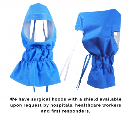 Surgical Hood with Shield