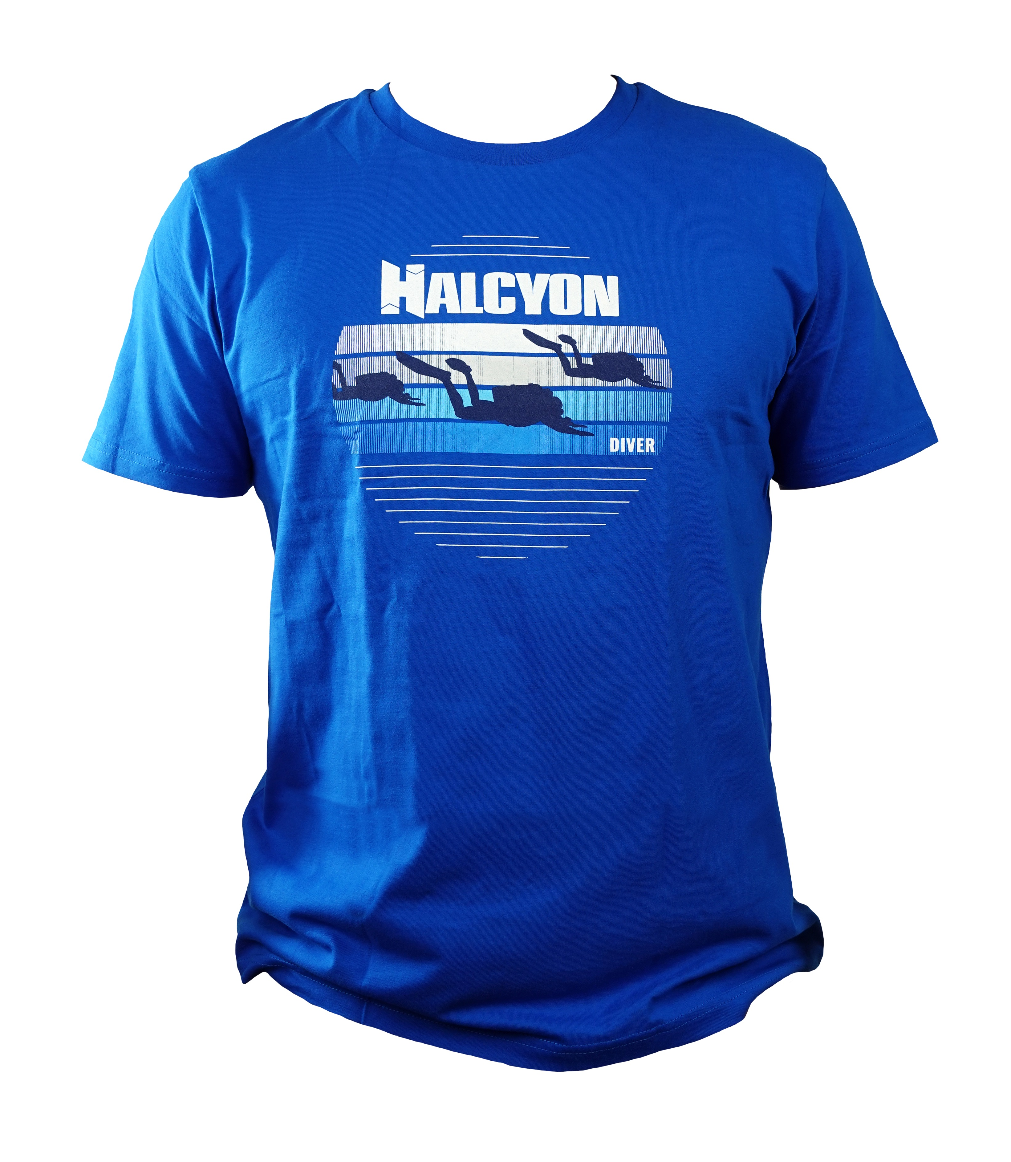 Halcyon Blue Diver T-shirt, Men's