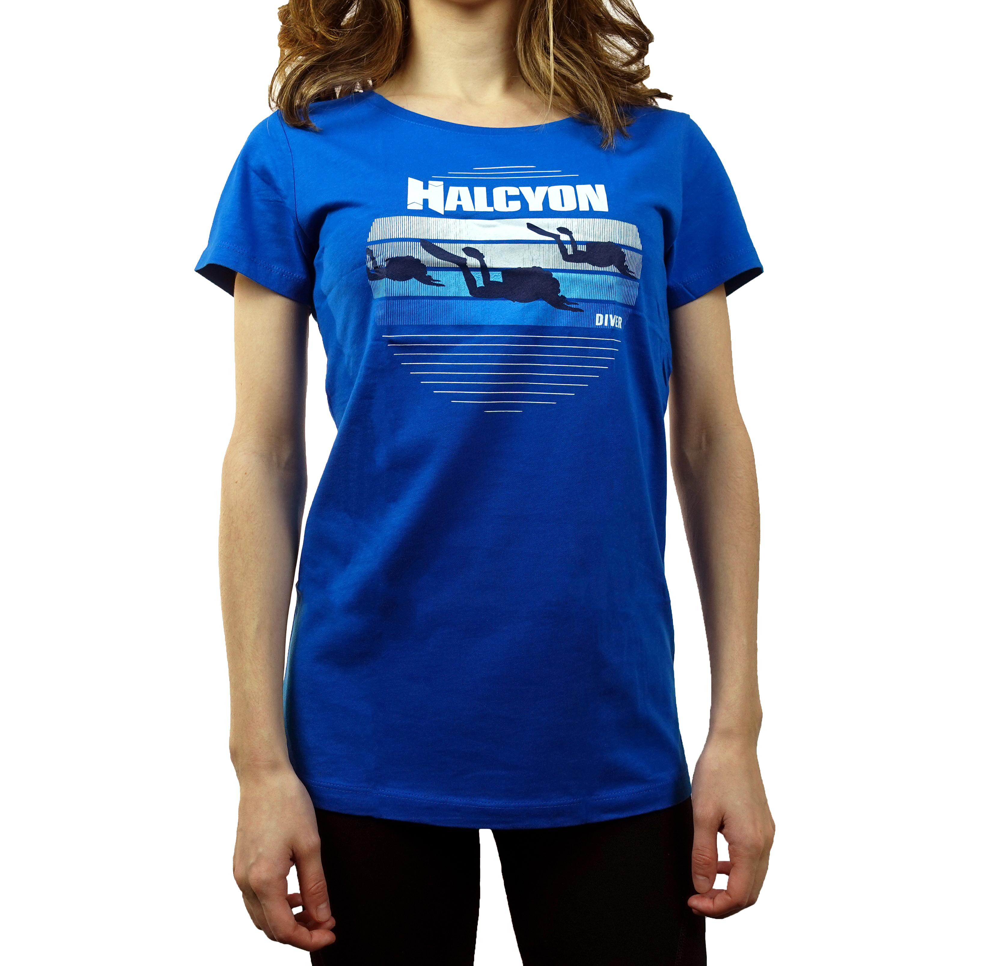 Halcyon Blue Diver T-shirt, Women's